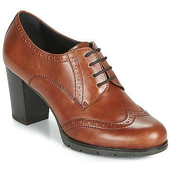 Shoes Women Derby Shoes André MAESTRO Cognac