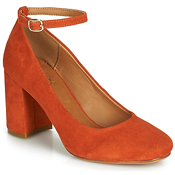 Shoes Women Heels André LAURIA Orange