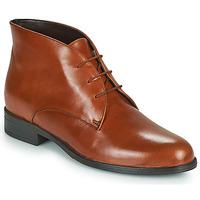 Shoes Women Mid boots André EMILIE Cognac