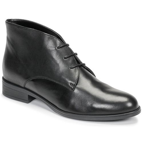 Shoes Women Mid boots André EMILIE Black