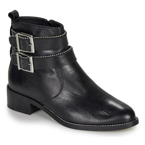 Shoes Women Mid boots André LOTUS Black