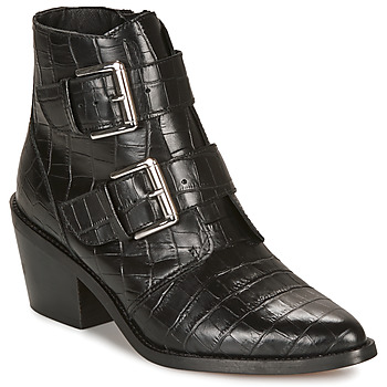 Shoes Women Ankle boots André NAPOLITA Black