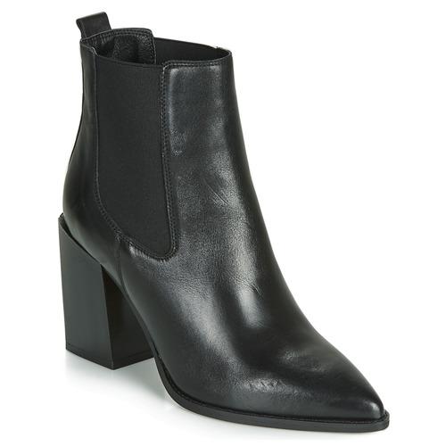 Shoes Women Mid boots André NINETTE Black