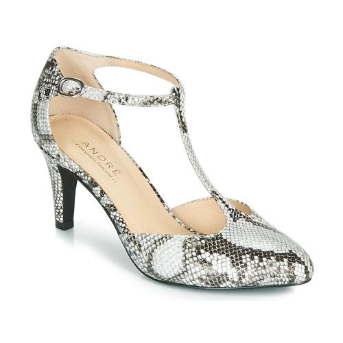 Shoes Women Heels André FALBALA Beige
