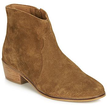 Shoes Women Mid boots André ELEANA Camel