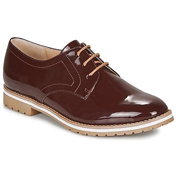Shoes Women Derby Shoes André CICERON Red