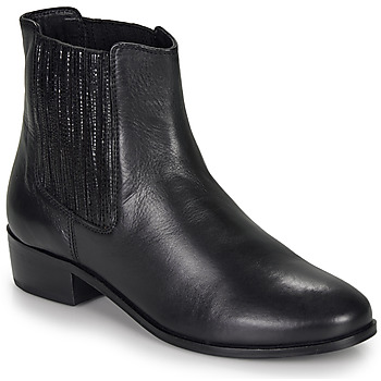 Shoes Women Mid boots André ECUME Black