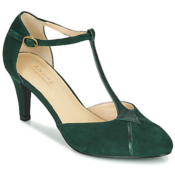 Shoes Women Heels André LOUCIANE Green