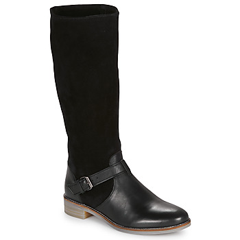 Shoes Women High boots André ELIA Black