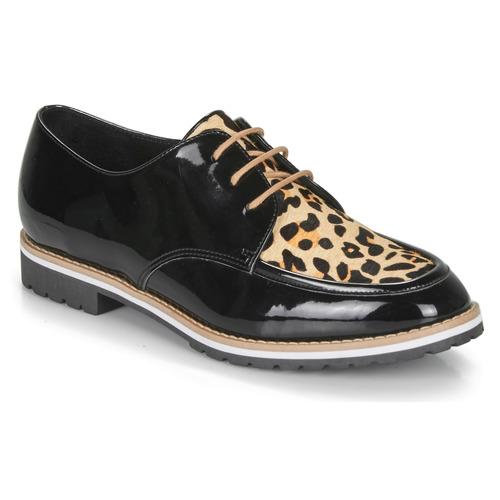 Shoes Women Derby Shoes André CHARLELIE Leopard