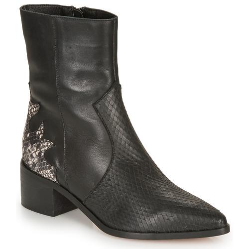Shoes Women Ankle boots André LA ROCKABILLY Black