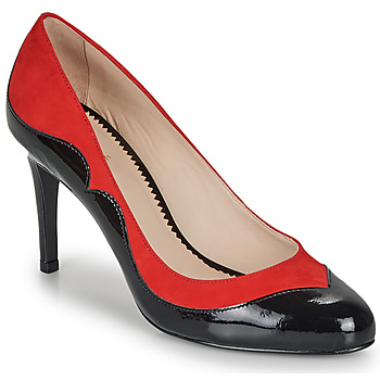 Shoes Women Heels André LA GALANTE Red