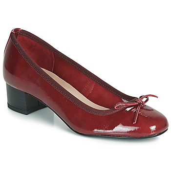 Shoes Women Heels André POEME Red