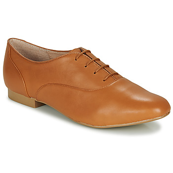 Shoes Women Derby Shoes André EXQUIS Camel