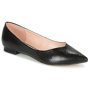 Shoes Women Flat shoes André LISERON Black / Motif