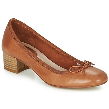 Shoes Women Flat shoes André POEME Camel