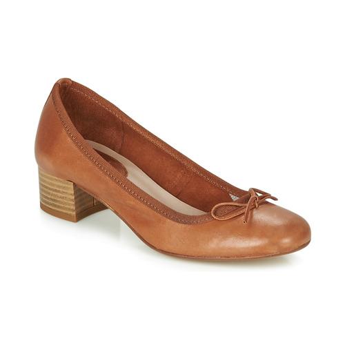 Shoes Women Flat shoes André POEME Camel