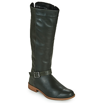 Shoes Women High boots André ETERNELLE Green