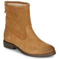Shoes Women Mid boots André ERIKA Ocre tan