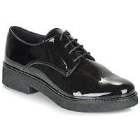 Shoes Women Derby Shoes André NANEL Black / Varnish