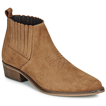 Shoes Women Mid boots André MANA Camel