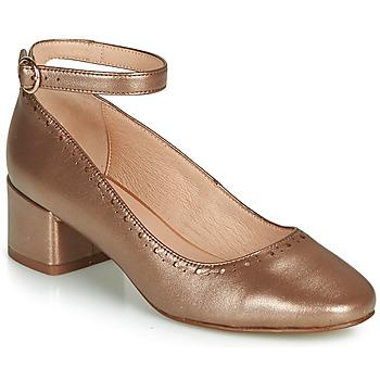 Shoes Women Heels André LAUREATE Gold