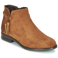 Shoes Women Mid boots André MILOU Camel