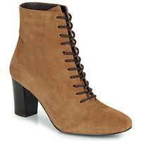 Shoes Women Ankle boots André MELUSINE Camel