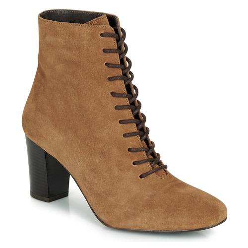 Shoes Women Ankle boots André MELUSINE Camel