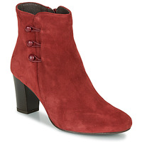 Shoes Women Mid boots André MAJESTEE Red