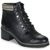 Shoes Women Mid boots André EIGER Black / Varnish