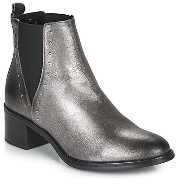 Shoes Women Mid boots André NEWBURY Silver