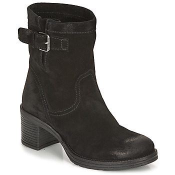 Shoes Women Ankle boots André MANDARINE Black
