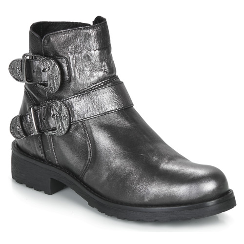 Shoes Women Mid boots André NORCROSS Silver