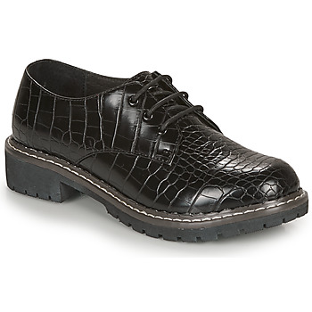 Shoes Women Derby Shoes André NEBULEUSE Black / Motif