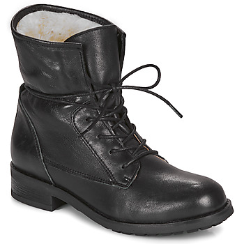 Shoes Women Mid boots André NETTY Black