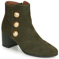 Shoes Women Ankle boots André NELLA Green