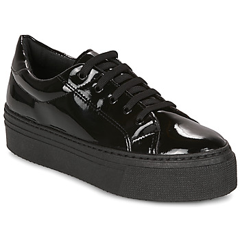 Shoes Women Low top trainers André SODA Black / Varnish