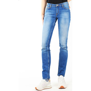 Clothing Women slim jeans Lee Drew Real Black W24SCK81E blue