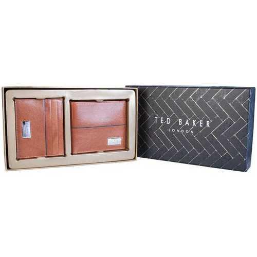 Bags Men Wallets Ted Baker MXGMUSEDH9M_brown brown