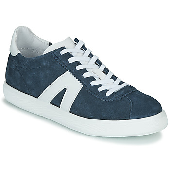 Shoes Men Low top trainers André GILOT Blue