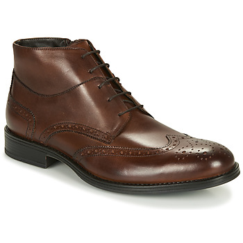 Shoes Men Mid boots André LORMAND Brown