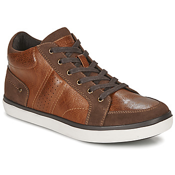 Shoes Men Hi top trainers André MOMBASSA Brown