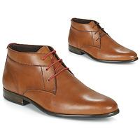 Shoes Men Mid boots André NEZIA Cognac