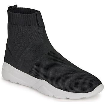 Shoes Men Hi top trainers André LUNAIRE Black