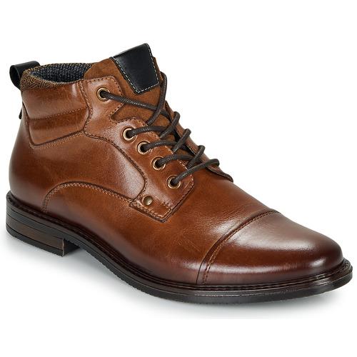 Shoes Men Mid boots André VABON Brown