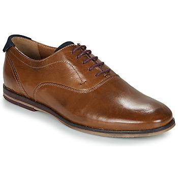 Shoes Men Brogues André ROUSSEL Cognac