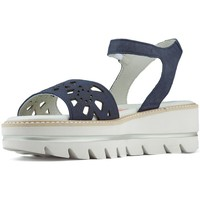 Shoes Women Sandals CallagHan LONG BEACH FRESH SANDALS NAVY