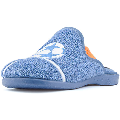 Shoes Boy Baby slippers Vulladi TOWEL AZAFATA PORTERO BLUE