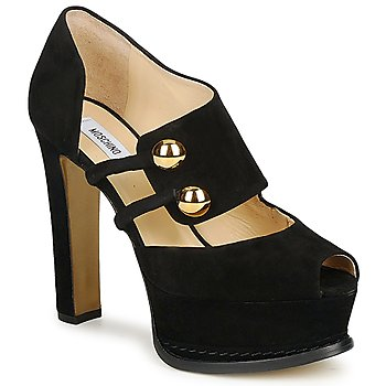 Shoes Women Heels Moschino MA1608 Black